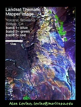 Bishop, CA Landsat Image